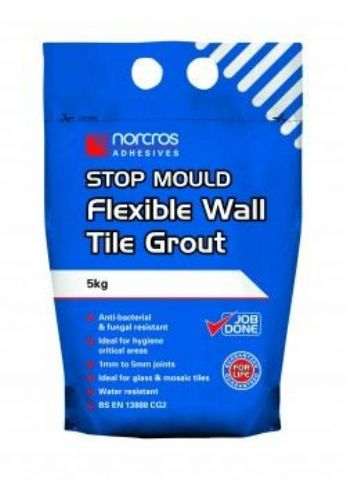Norcros Stop Mould Flexible Wall Tile Grout