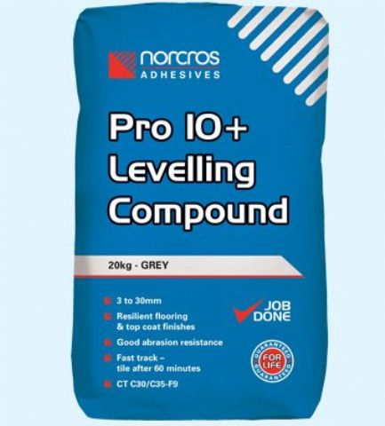 Norcros Pro 10 PLUS Levelling Compound