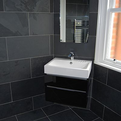 Brazilian Black Natural Slate Floor Tiles